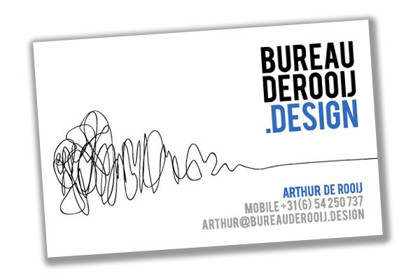 Het visitekaartje van Bureau De Rooij