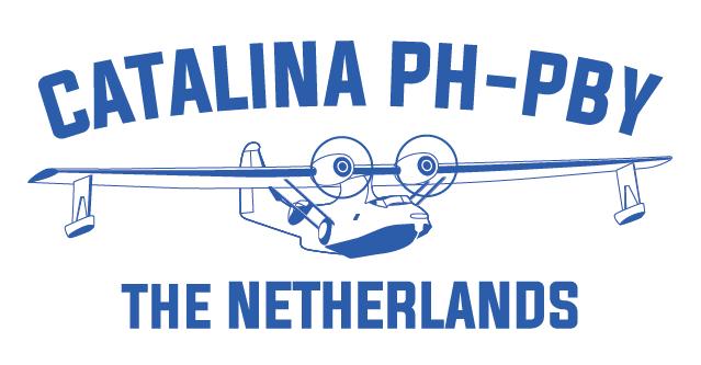 Het nieuwe logo voor de Catalina PH-PBY